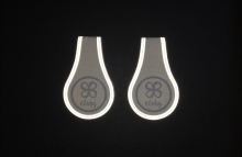 Cloby Magnetic clips reflective (2 pack)