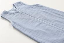 Alvi sleeping bag made of gauze 110 cm blue