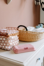 Funkybox To Go for wet wipes vintage pink love