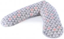 Theraline Nursing pillow Original design 136 Triangle mix
