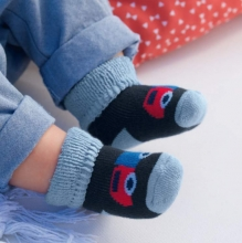 Sterntaler newborn socks cars 3 pack size 13/14