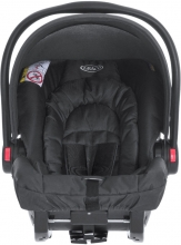 Graco Baby car seat Snugride Midnight Black (Group 0+)