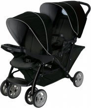 Graco Sibling stroller Stadium Duo black/grey
