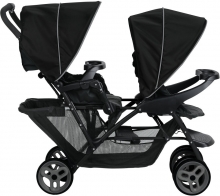 Graco Sibling stroller Stadium Duo black/grey