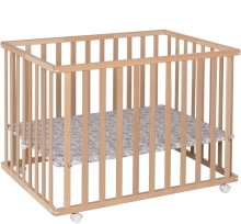 Geuther 2211 Leela playpen 0015 natural 76x102,5 cm