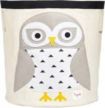 3sprouts Storage basket snow owl