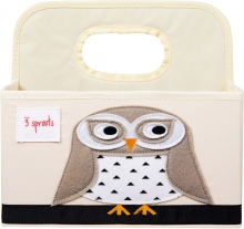 3sprouts Diaper storage basket owl