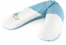 Theraline Nursing pillow Original design 69 Donkey lagune turquoise