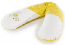 Theraline Nursing pillow Original design 70 Donkey yellow