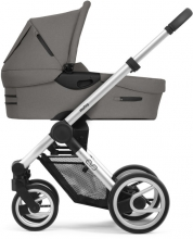 Mutsy Evo Bold Warm Grey 2020 incl. carrycot, seat and frame