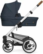 Mutsy NIO Adventure Ocean Blue incl. carrycot, seat and frame 2020