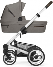 Mutsy NIO Journey Taupe Grey incl. carrycot, seat and frame 2020