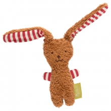 Sigikid Organic cotton Grasp toy bunny brown Green Collection