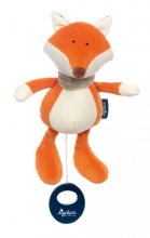 Sigikid 42326 Musical Toy Fox Blue Collection