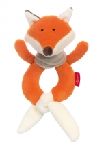 Sigikid 42325 Graspy Toy Fox Blue Collection