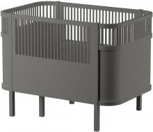 Sebra The Sebra Bed - Baby & Jr. - Wooden Edition Birchwood classic grey