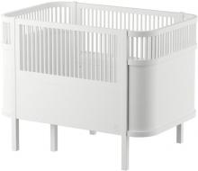 Sebra The Sebra Bed - Baby & Jr. - Wooden Edition Birchwood classic white