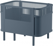 Sebra The Sebra Bed - Baby & Jr. - Wooden Edition Birchwood forest lake blue