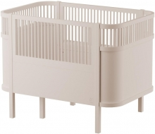 Sebra The Sebra Bed - Baby & Jr. - Wooden Edition Birchwood beige