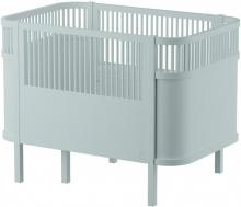 Sebra The Sebra Bed - Baby & Jr. - Wooden Edition Birchwood mist green