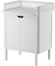 Sebra Changing unit with doors classic white