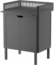 Sebra Changing unit with doors classic grey