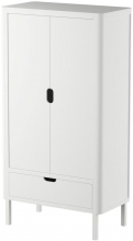 Sebra Wardrobe with 2 doors classic white