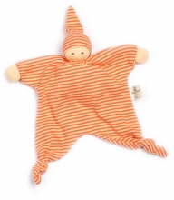 Nanchen Natur Cuddle cloth Sun orange