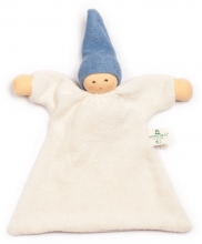 Nanchen Natur Cuddle cloth blue