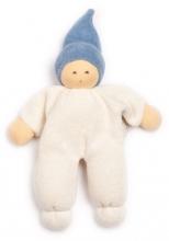 Nanchen Natur Puppet Nucki blue