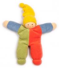 Nanchen Natur Puppet Nucki multicolor