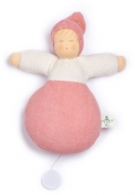 Nanchen Natur Musical toy Sleep well light pink