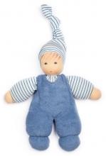 Nanchen Natur Puppet Wuschel blue