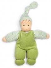 Nanchen Natur Puppet Wuschel green