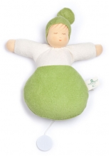 Nanchen Natur Musical toy Sleep well green