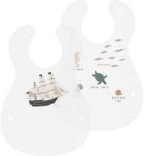 Sebra Bib (2 pcs.) Seven Seas