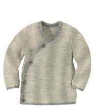 Disana Melange jacket 50/56 grey creme