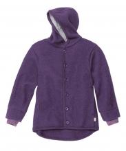 Disana boiled wool jacket 74/80 plum