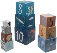 Sebra Stacking blocks Seas/Daydream
