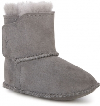 EMU Australia Baby Bootie 0-6 months charcoal