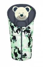 Odenwälder Fußsäckchen Mucki Fashion camouflage Koll. 20/21 mint