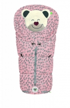 Odenwälder little footmuff Mucki Fashion lovely hearts coll. 20/21 light pink