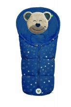 Odenwälder little footmuff Mucki Fashion sparkling stars coll. 20/21 blue