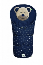 Odenwälder little footmuff Mucki Fashion sparkling stars coll. 20/21 navy