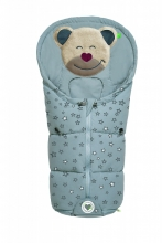 Odenwälder little footmuff Mucki Fashion sparkling stars coll. 20/21 grey