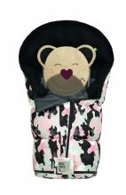 Odenwälder Sleeping bag Mucki L Fashion camouflage coll. 20/21 light pink
