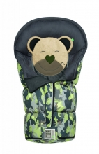 Odenwälder Sleeping bag Mucki L Fashion camouflage coll. 20/21 jungle