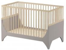 Sebra YoMi Baby bed beechwood earthbrown
