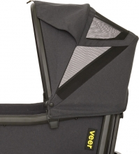 VEER Cruiser Sun canopy black/dark grey