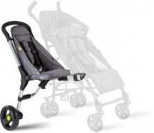 BuggyPod iO Additional seat for prams and strollers anthracite